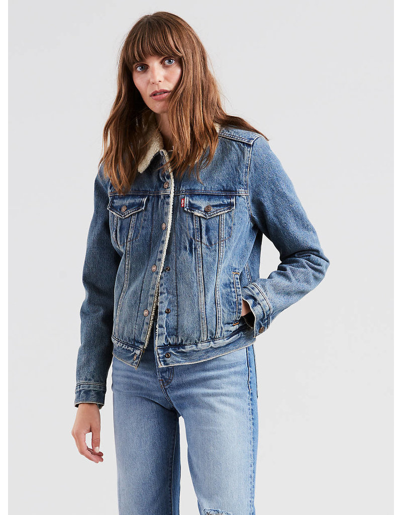 Levis Original Sherpa Trucker Jacket