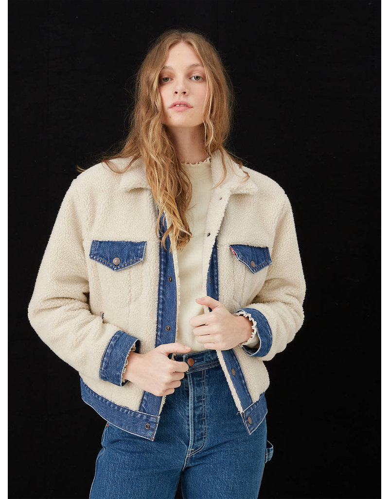 Levis Ex-Boyfriend Pieced Trucker Jacket