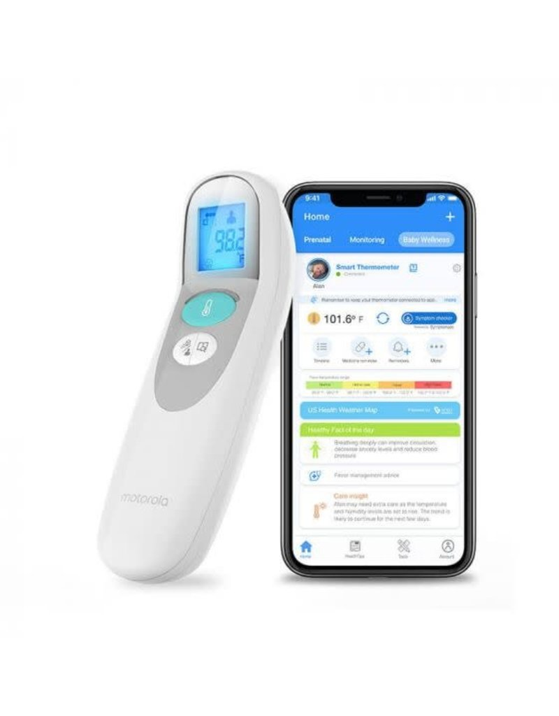 Motorola Smart Nursery Touchless  Thermometer Connected