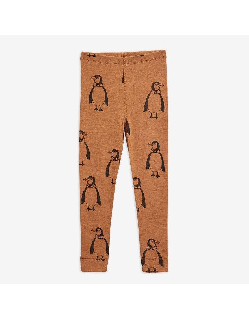 MiniRodini Penguin Wool Leggings
