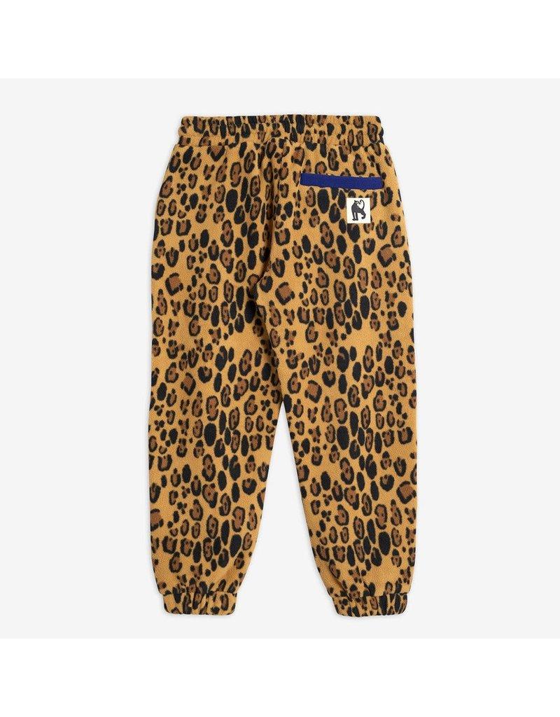 MiniRodini Leopard Fleece Trousers