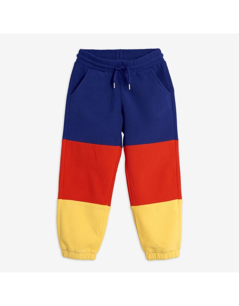 MiniRodini Panel Fleece Trousers