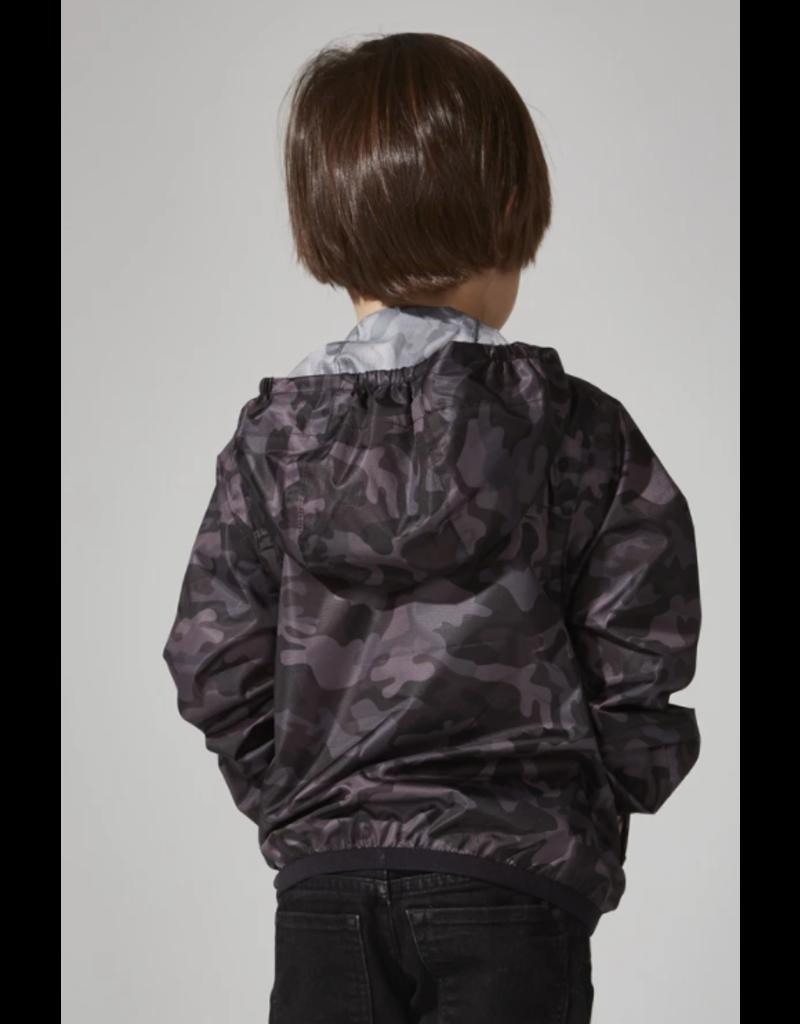 O8 Lifetsyle Sam Print Rain Jacket