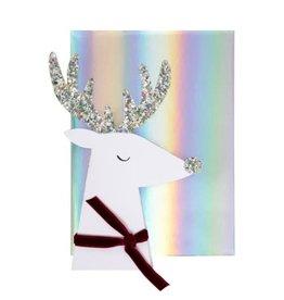 Meri Meri Reindeer Head Card