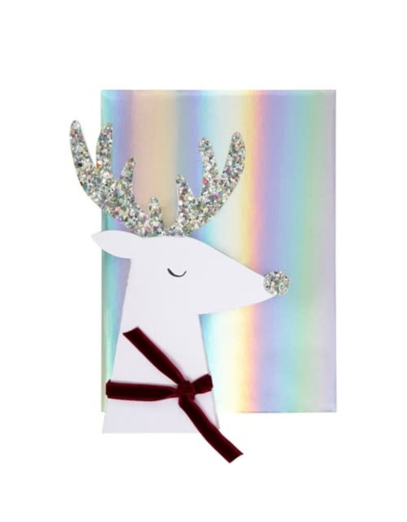 Meri Meri Reindeer Head Card