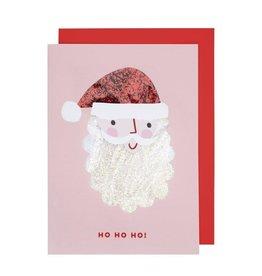 Meri Meri Santa Shaker Card