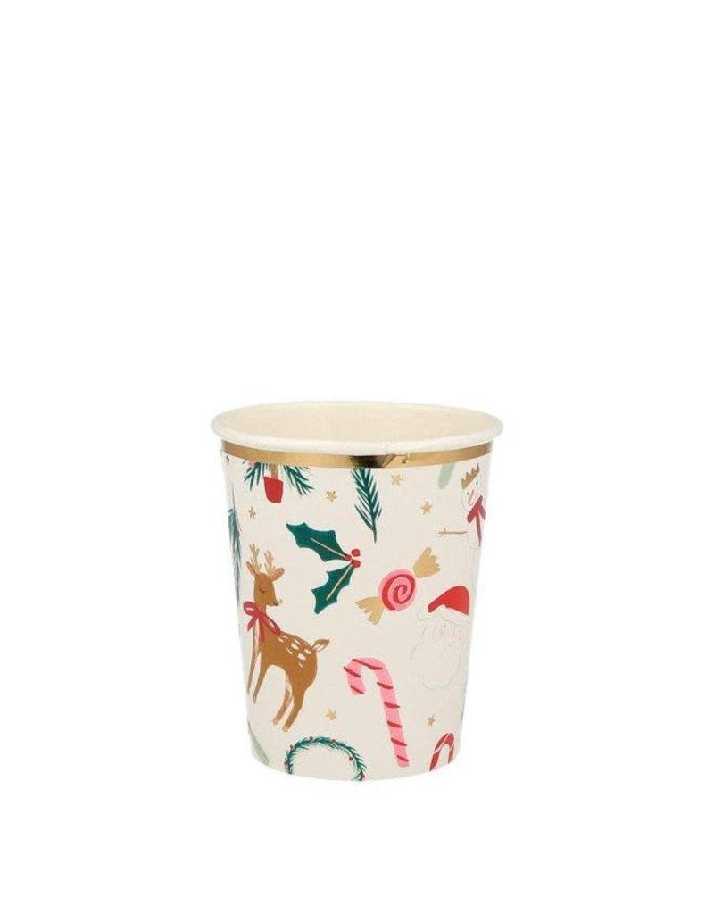Meri Meri Festive Motif Cups