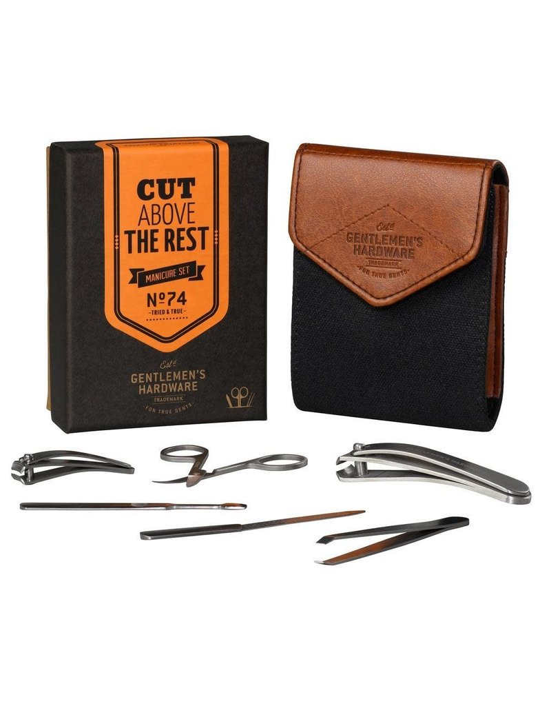 Gentlemen's Hardware Charcoal Manicure Set