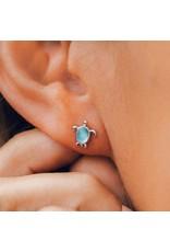 Pura Vida Bracelets Sea Turtle Stud Earrings