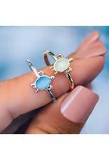 Pura Vida Bracelets Sea Turtle Ring