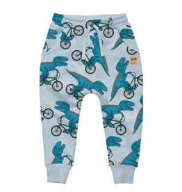 Rock Your Baby Dino Bike Baby Sweatpants
