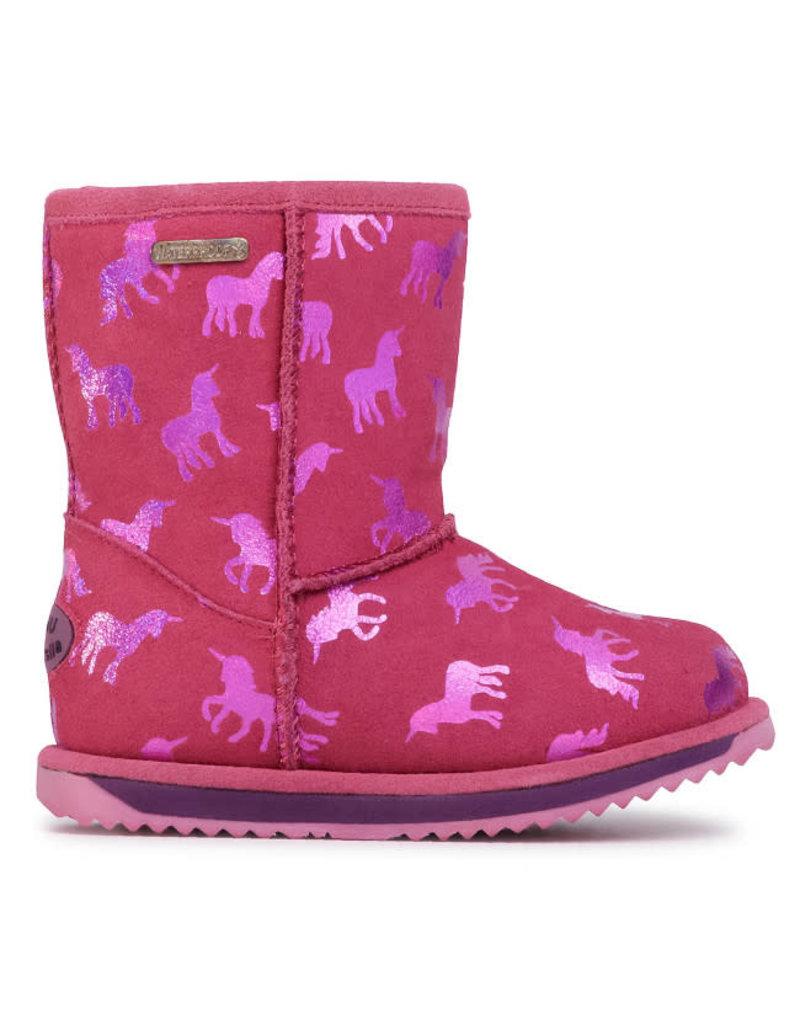 EMU Australia Kids Rainbow Unicorn Brumby Boot