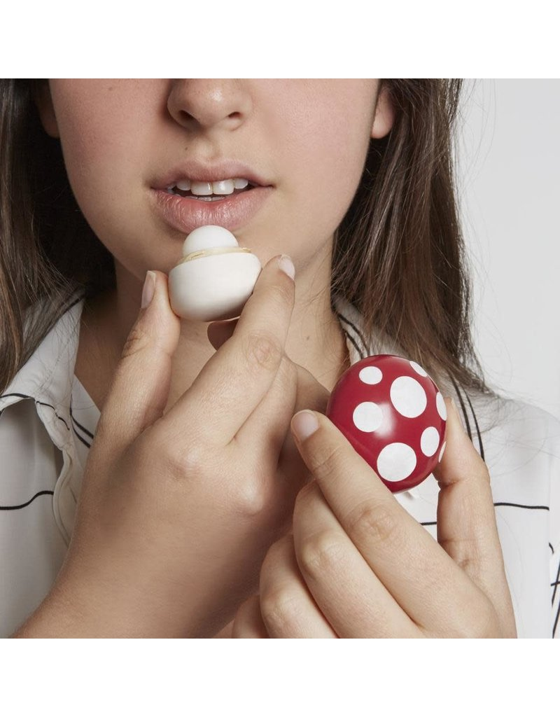 Kikkerland Designs Mushroom Lip Balm