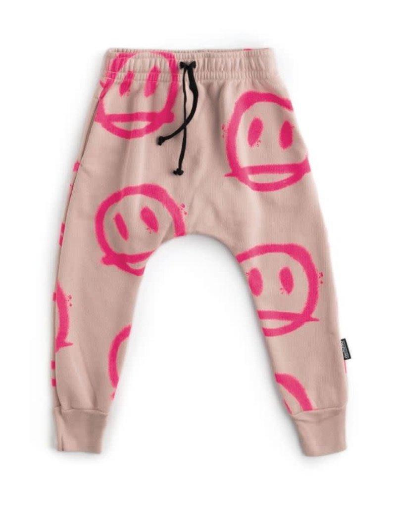 nununu Sprayed Smiles Baggy Pants