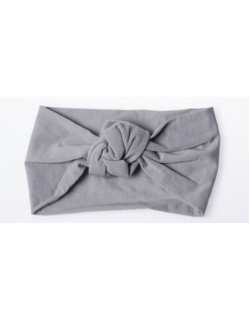 Lox Lion Knotted Nylon Headwrap