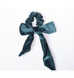 Lox Lion Velvet Hair Ribbon Scrunchie