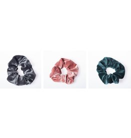 Lox Lion Trio of Velvet Scrunchies