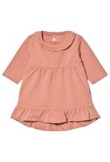 En Fant Ruffle Hem Sparkle Dress