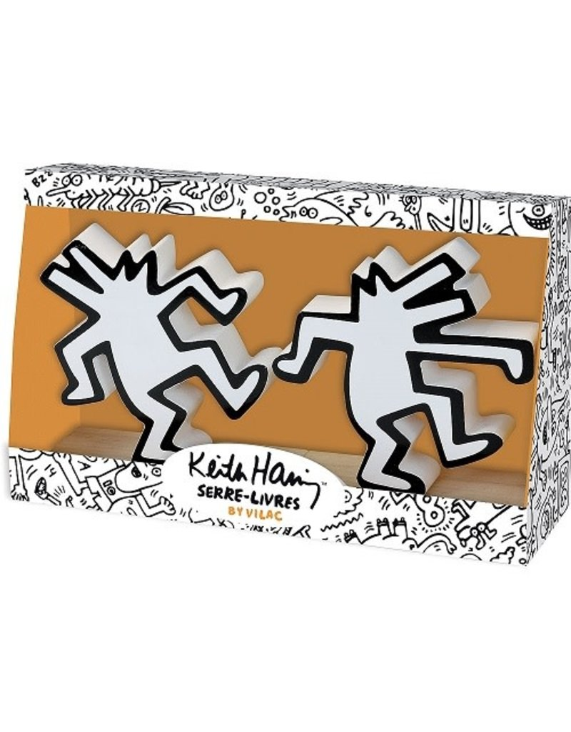 Vilac Keith Haring Book Ends