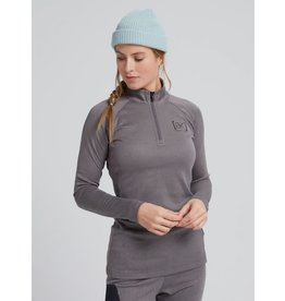 BURTON Womens Baker Power Wool Base Layer Quarter Zip
