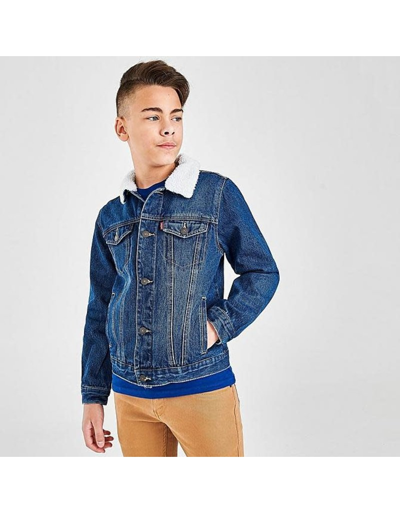 Levis Kids Sherpa Trucker Jacket