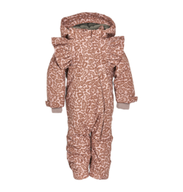 En Fant Ruffle Sleeve Snowsuit