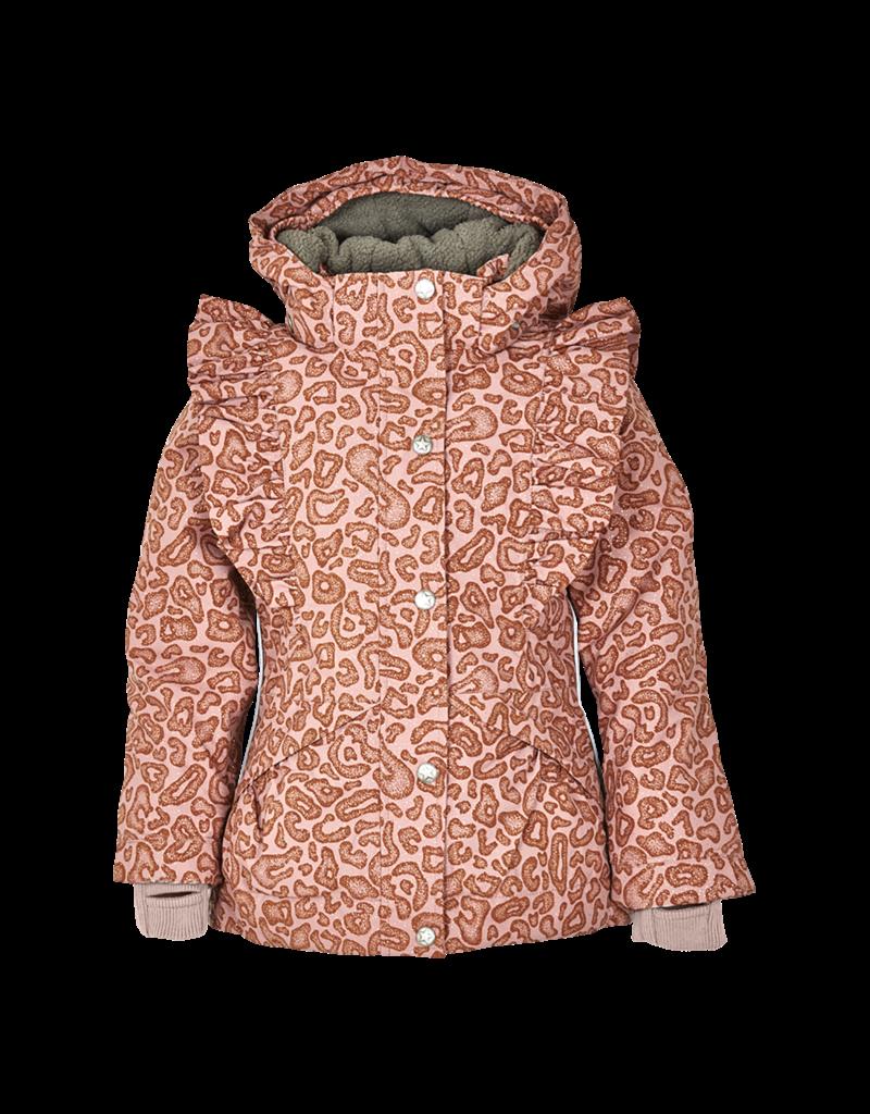 En Fant Ruffle Sleeve Winter Jacket