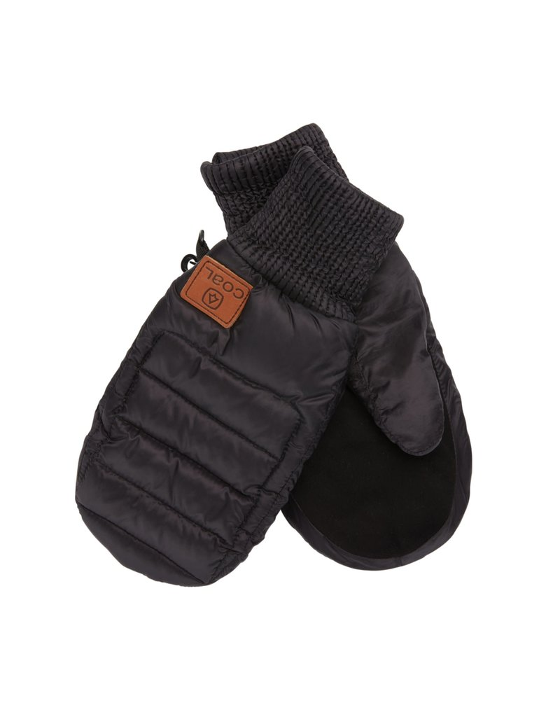 Coal The Fairfax Quilted Down Mittens