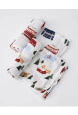 Little Unicorn Deluxe Muslin Swaddle Blanket Set