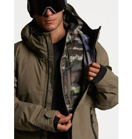 VOLCOM Mens Owl 3-In-1 Gore-Tex Jacket