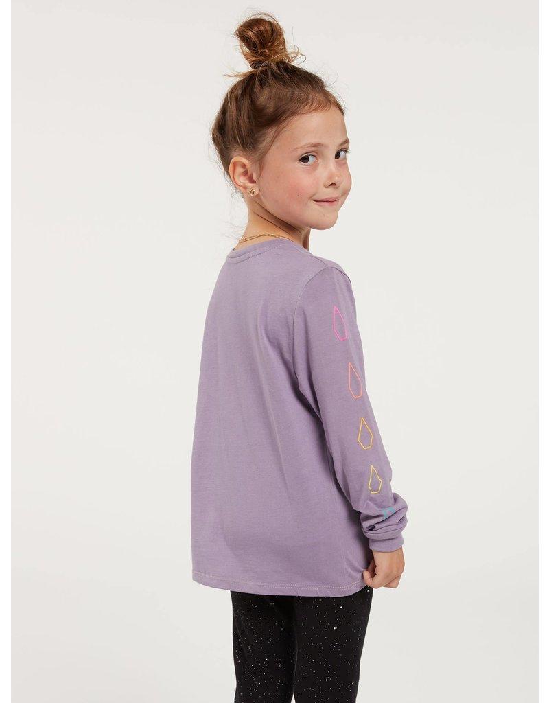 VOLCOM Little Girls Made From Stoke Long Sleeve Tee