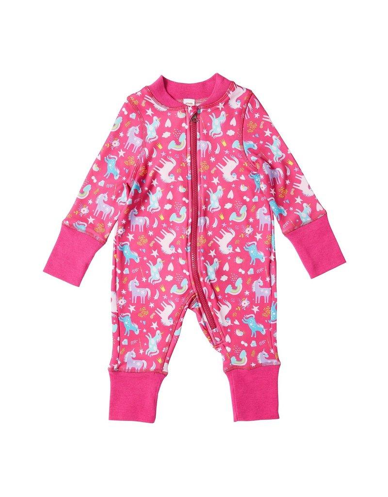 Kombi Velvet Fleece Infant One Piece