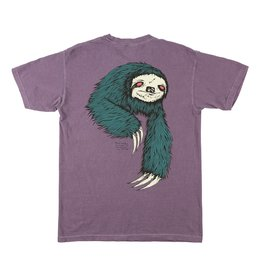 Welcome Sloth Garment Dyed Tee