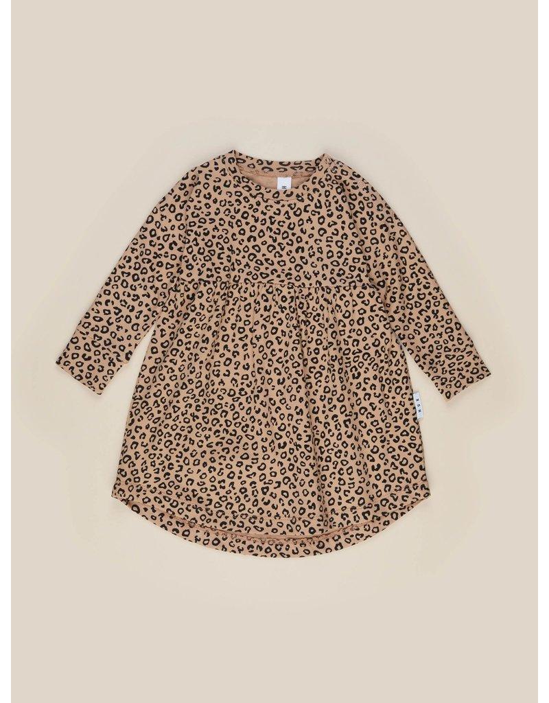 HuxBaby Animal Long Sleeve Swirl Dress