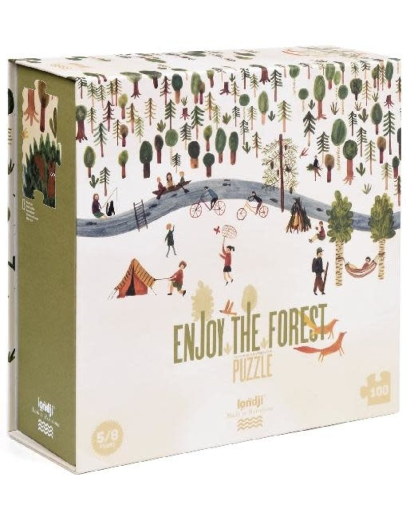 londji Enjoy the Forest Puzzle