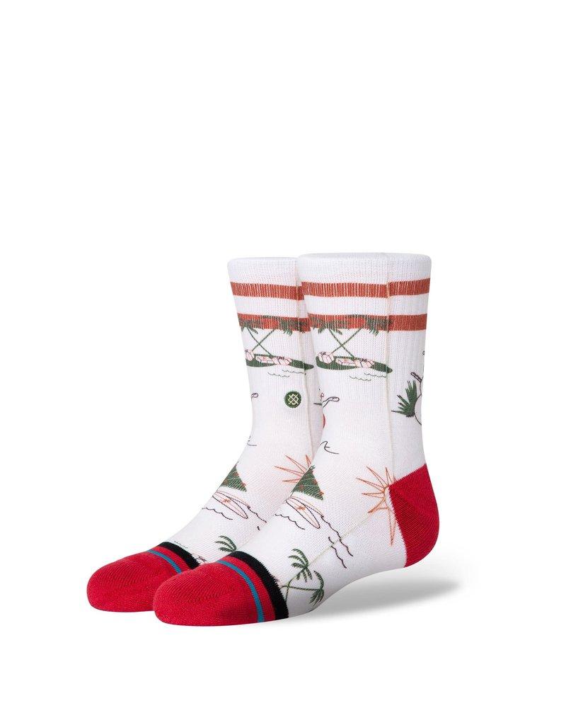 Stance Santa In Hawaii Kids Sock