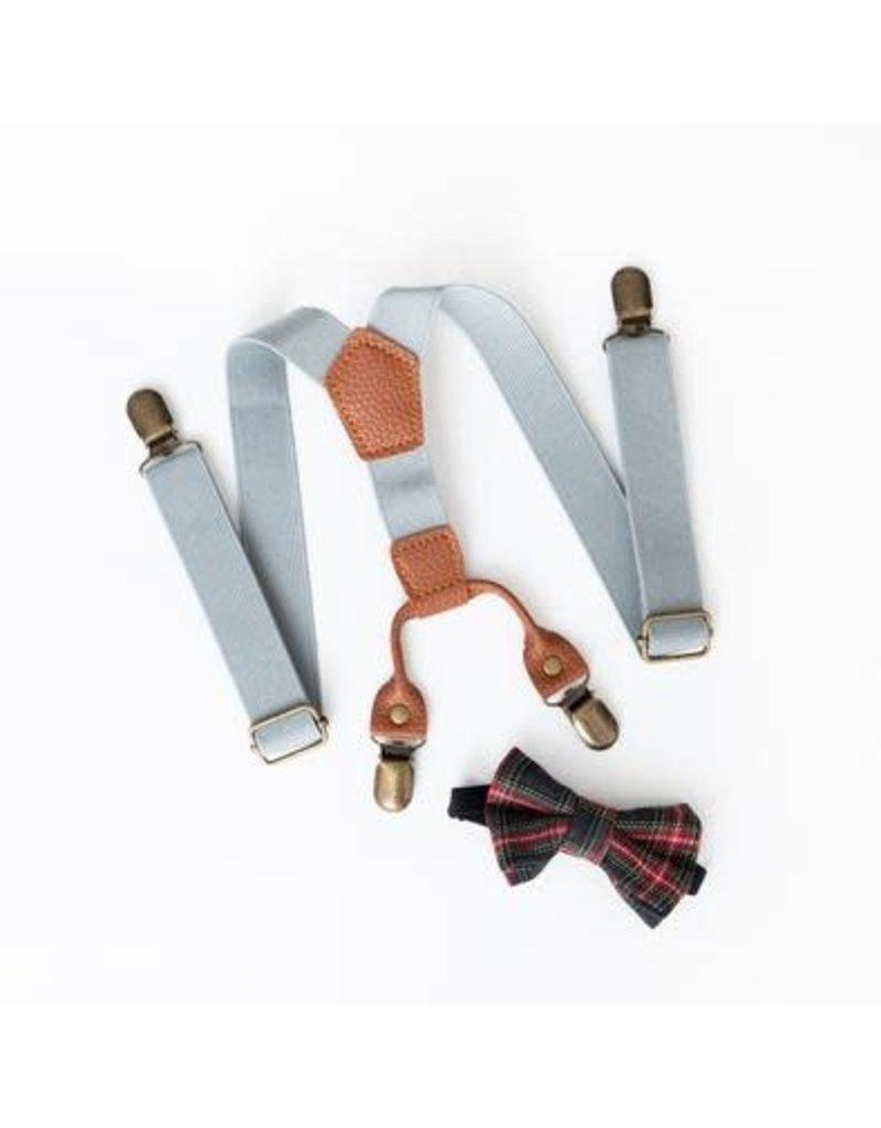 Lox Lion Suspenders & Bow Tie Set