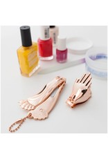 Kikkerland Designs Hand & Foot Nail Clipper Set