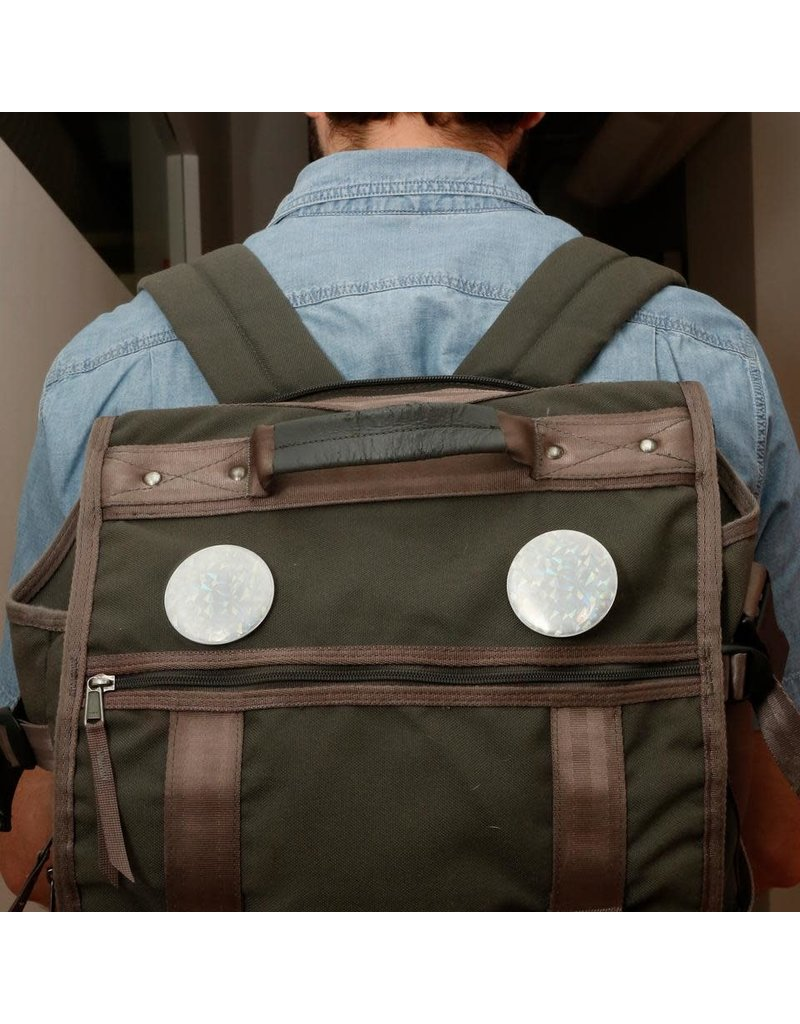 Kikkerland Designs Reflective Buttons