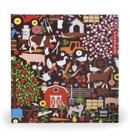 Kikkerland Designs 1000 Piece Puzzle