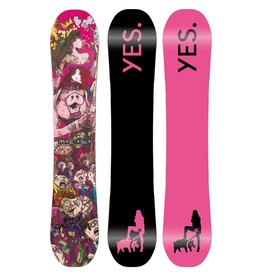 YES Basic UnInc Snowboard 2022