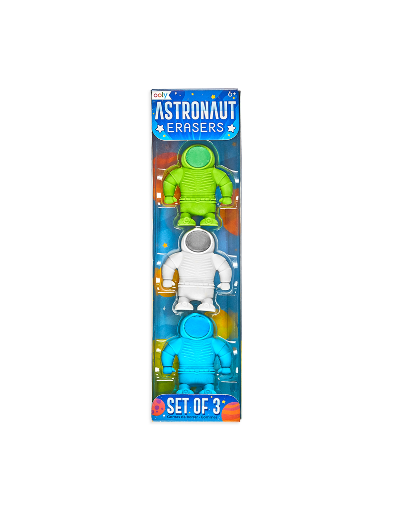Ooly Astronaut Erasers