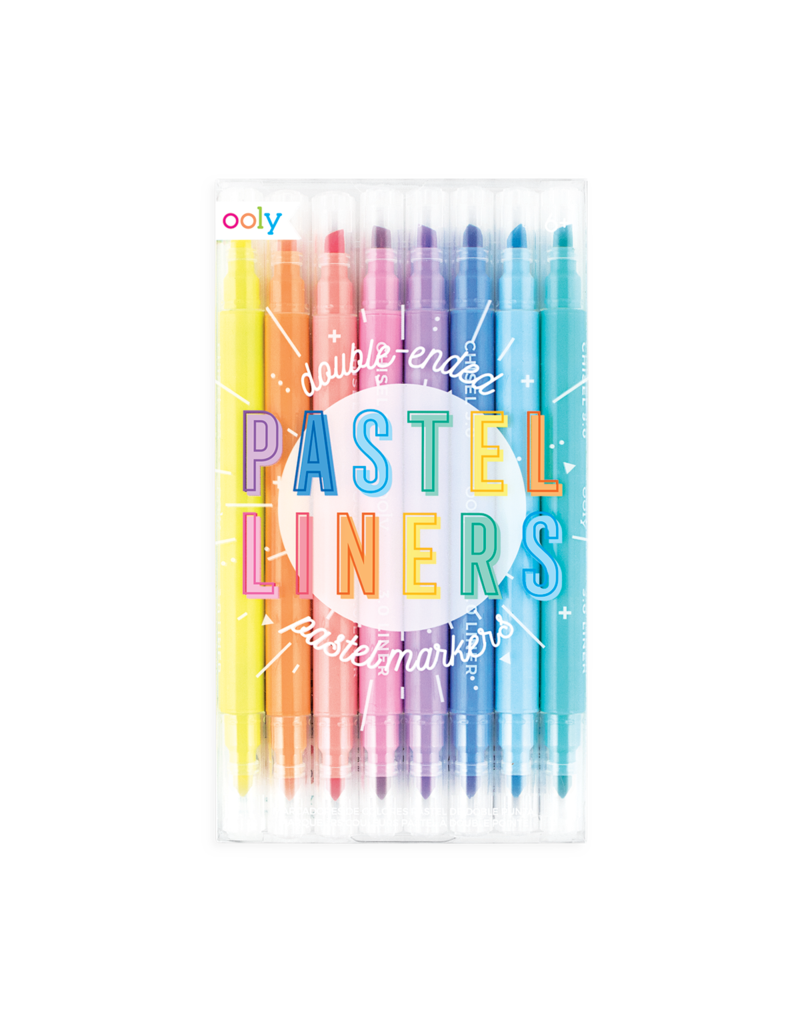 Ooly Pastel Liners Dual Tip Markers