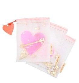 Meri Meri Heart Shaker Gift Bags