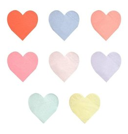 Meri Meri Party Palette Heart Napkins