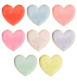 Meri Meri Party Palette Heart Plates