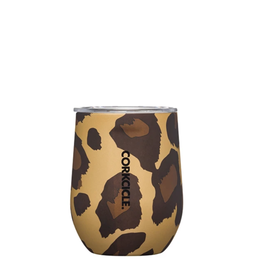 Corkcicle Luxe Leopard Stemless