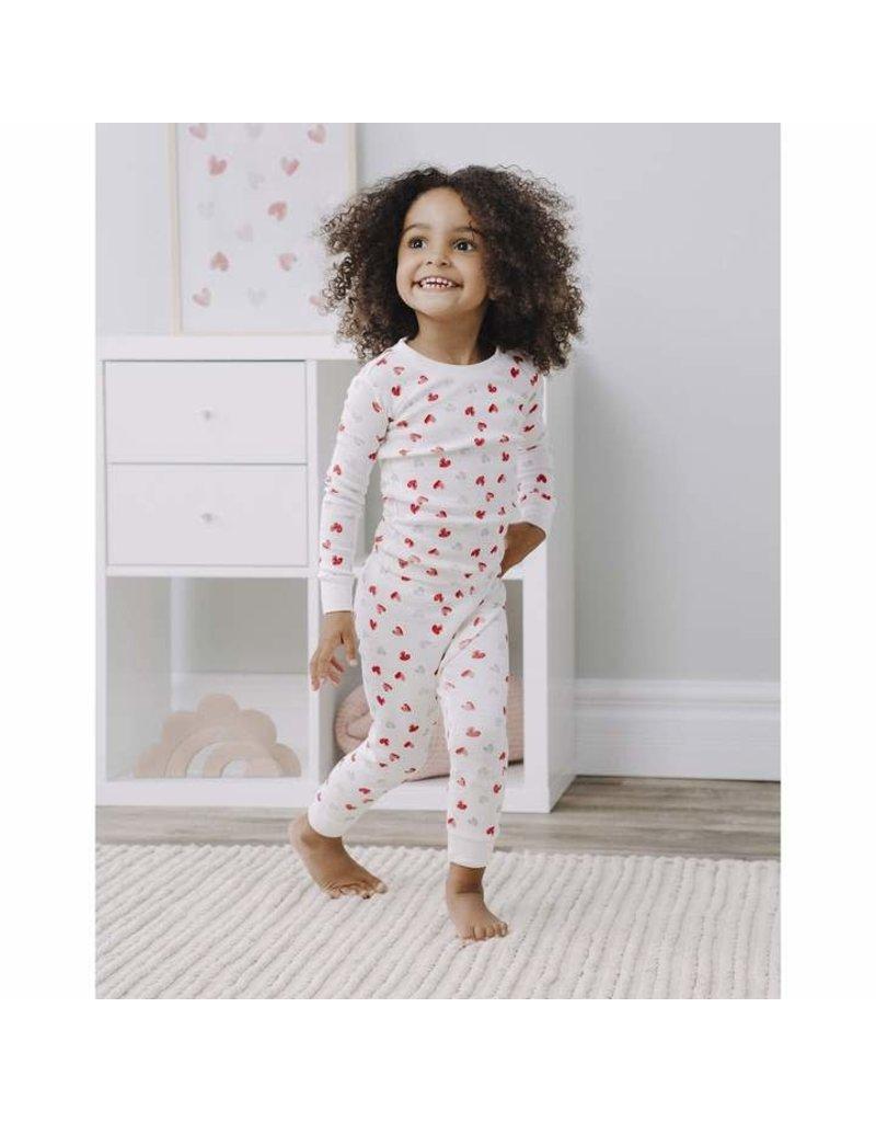 Petit Lem Hearts Pyjama Set