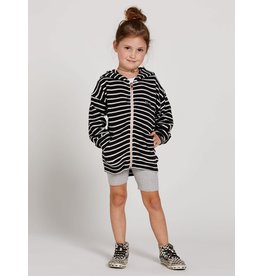 VOLCOM Little Girls Lived In Lounge Zip Fleece