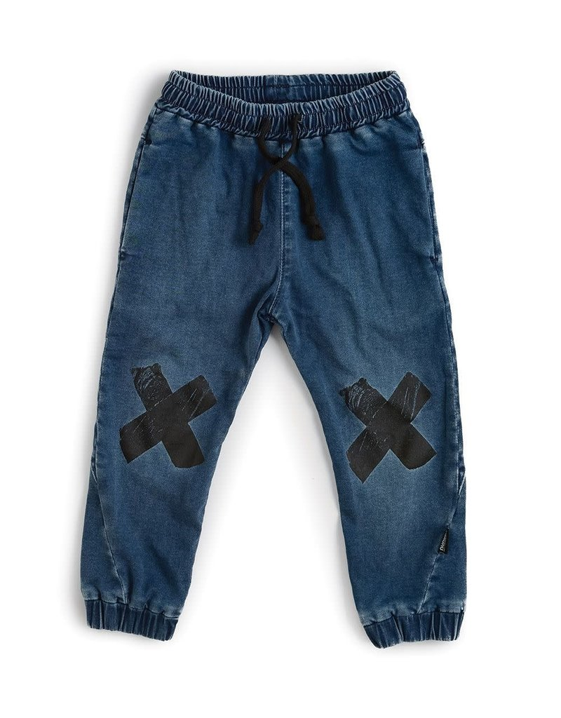 nununu Double X Denim Pants